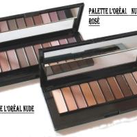 L'Oreal La Palette Nude Rosé  VS Urban Decay