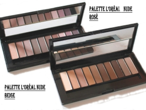 LOreal-LA-Palettes-nude beige et rosé